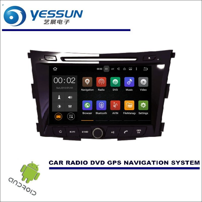 YESSUN For SsangYong Tivoli 2015~2017 - CD DVD GPS Player Navi Radio Stereo HD Car Multimedia Navigation Wince / Android System