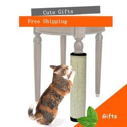 Chat griffoir sisal Naturel Tapis jouet pour chats cataire tour escalade arbre à Chat Chat Scratch Pad conseil Protéger Les meubles Pied