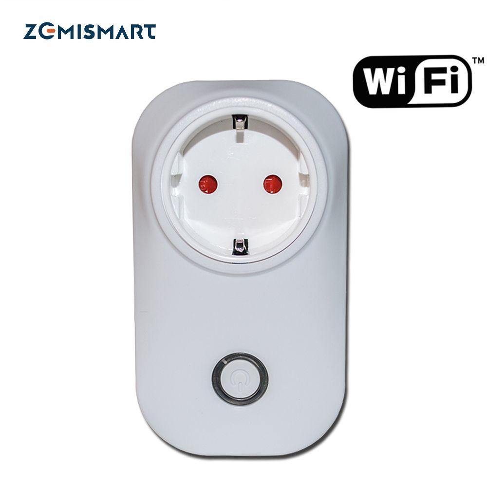 Prise de courant EU Compatible avec Echo WIFI télécommande sans fil Smart Home 110-240 v