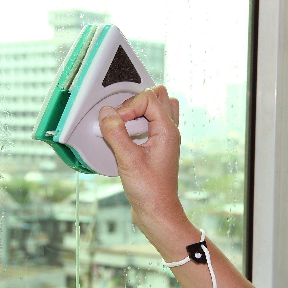 5-12 мм Стекла Очиститель Стекла двусторонняя Поверхность Кисти Очистка Магнитного Оконное Стекло Щетка Для Очистки Стекла