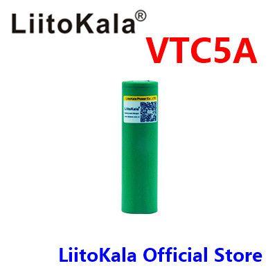 1 stücke LiitoKala 3,7 v 18650 2600 mah Hohe amps 35a li-ion akku für vtc5a VTC
