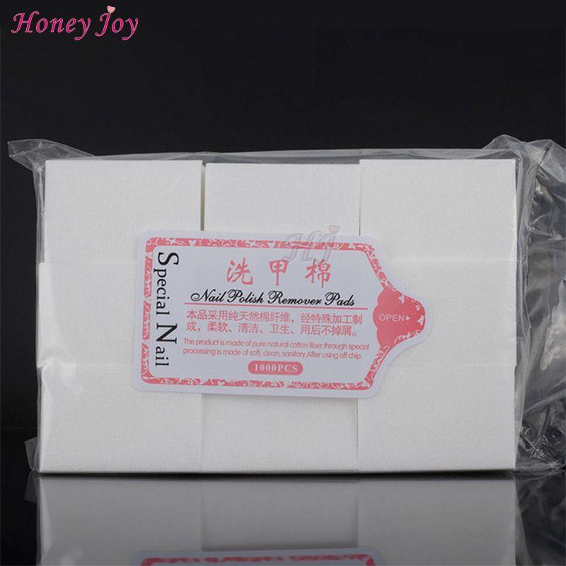 111 gram/bag solide Durable ongles outils bain manucure Gel vernis à ongles dissolvant non pelucheux lingettes 100% coton serviettes pour ongles