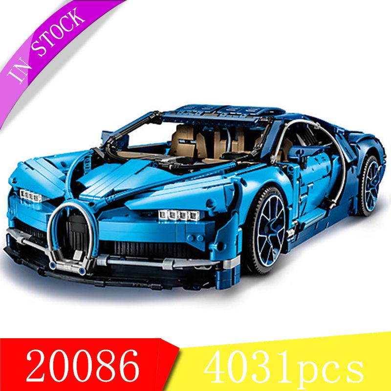 Compatible 42083 Building Blocks Technic The Bugatti Chiron Racing Cars Toys For Kids Gifts Bricks Lepin 20086 Technic Race Car