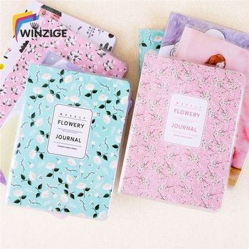 Winzige A6 Weekly Plan Cute Notebook Waterproof A Year Filofax Creative Inner Pages Kawaii Planner Organizer Diary