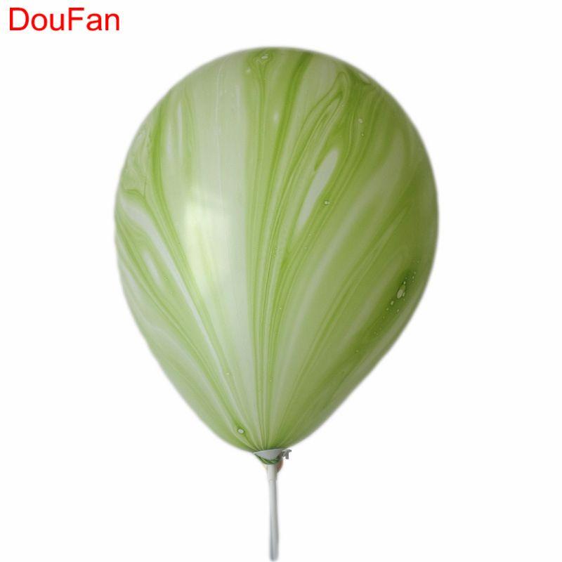 50 pcs Marbre Agate Latex Ballon Ballons de Fête Décor de Fête D'anniversaire Ballons En Gros pour Bébé Douche Kids Party De Noël