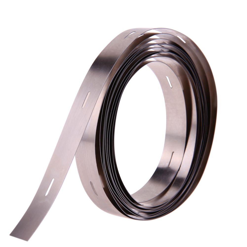 2 Mt 0,2*10 MM Reine Ni Platte Nickel Streifen Band Für Li 32650 Batterie Punktschweißen DIY Pack montage