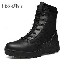 Ejército al aire libre Botas hombres Militar desierto Tactical Boot Zapatos otoño transpirable combate Botines botas tacticos zapatos