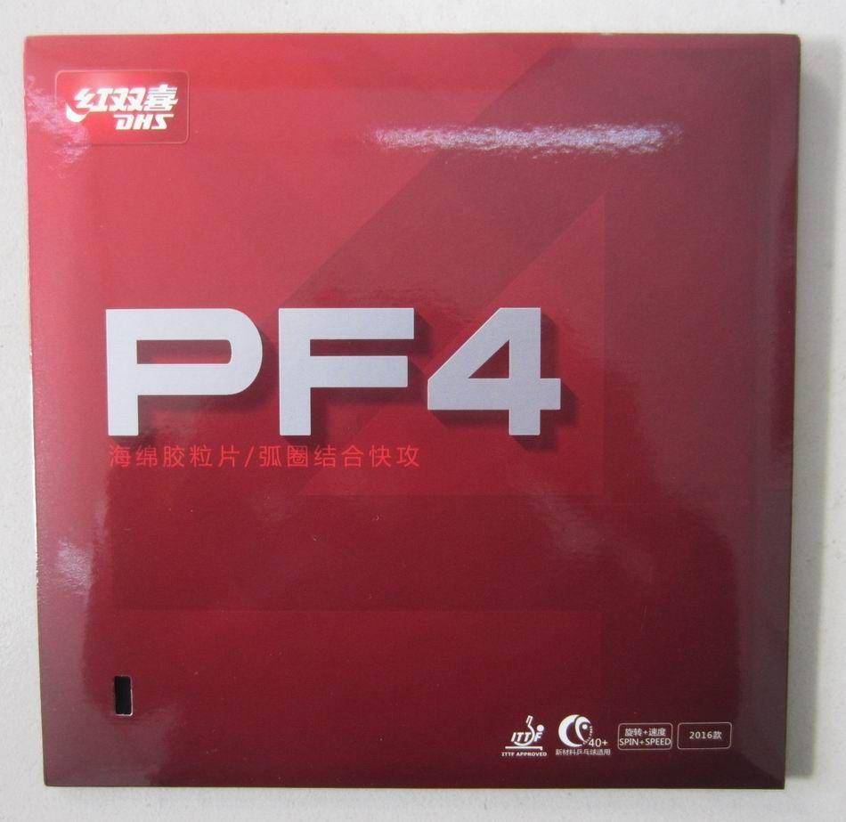 D'origine DHS PF4 Ping-Pong En Caoutchouc dhs de raquette de ping-pong sports de raquette simple hurricane 3 pour la formation