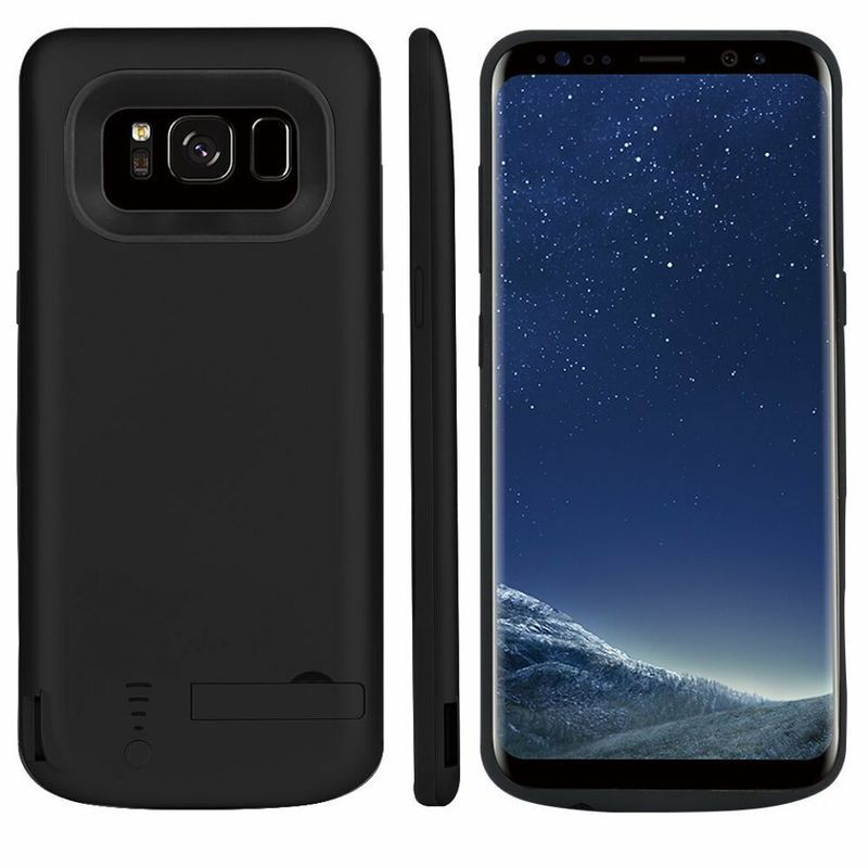 S8 Battery Case For Samsung Galaxy S8 New Battery Charger Cover Case 5000 mAh Rechargeable Power Bank External Backup