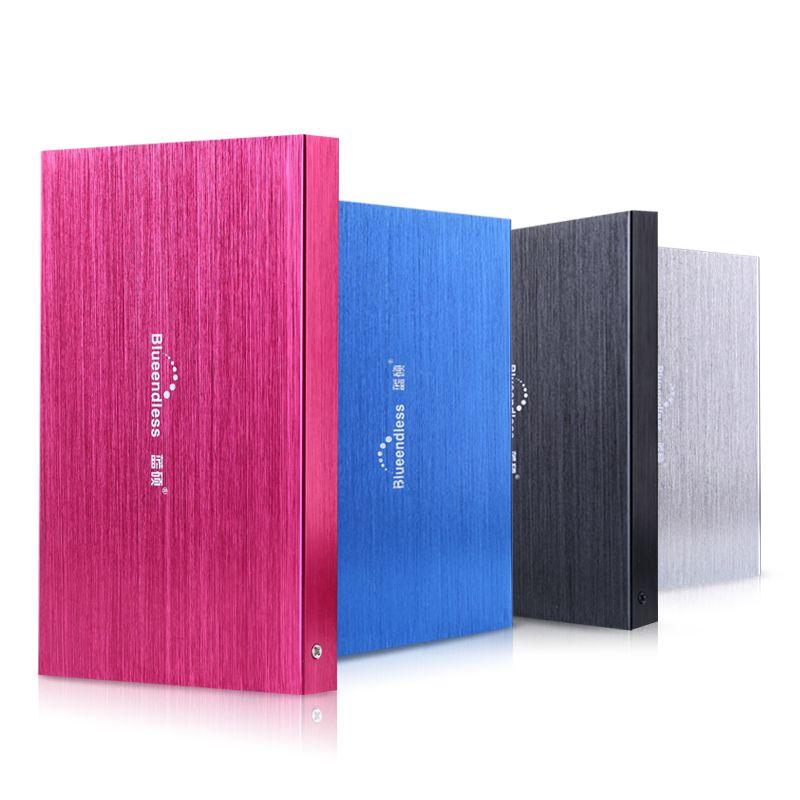 Blueendless Portable disque dur externe 2.5