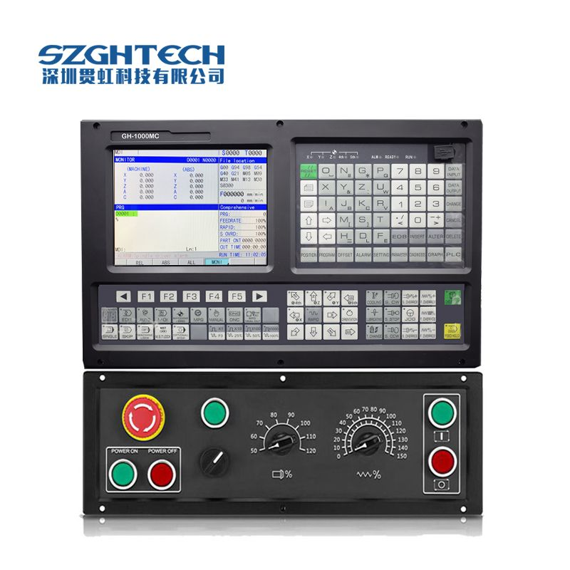 CE Certificate 5 axis cnc milling controller with high working precision and effect includes the cables, power board IO boards