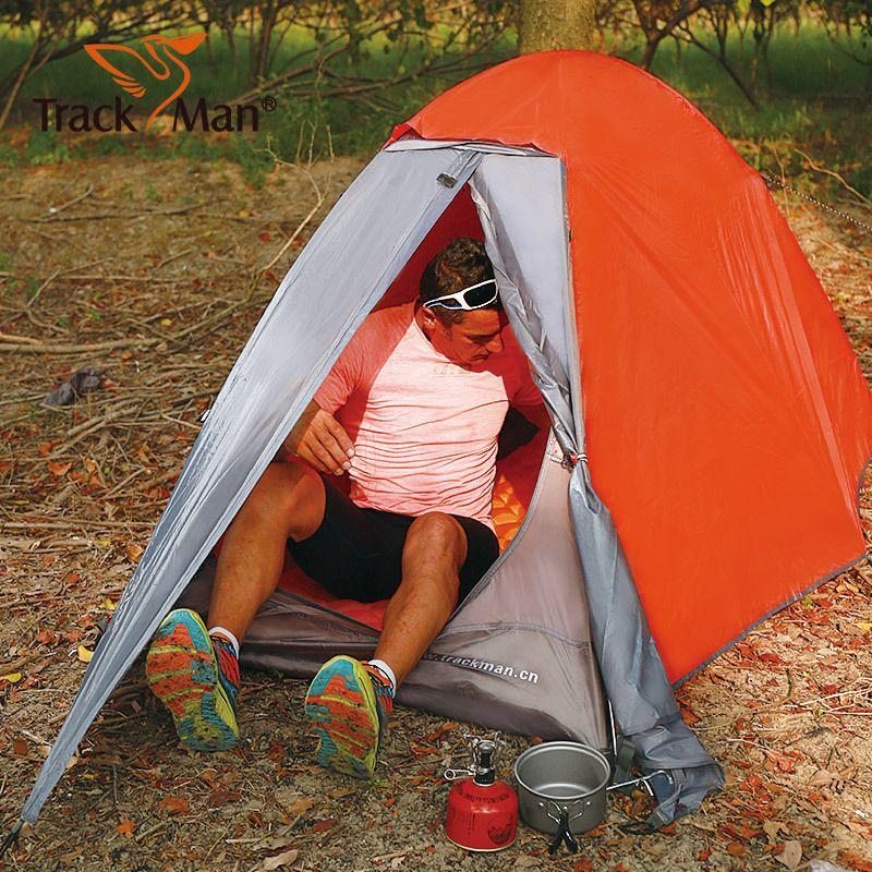 Trackman Camping Zelt 1 Personen Doppelschichten 3 Saison Zelt Außenzelt haben 2 muster 90 cm breite und upgrade muster 100 cm breite
