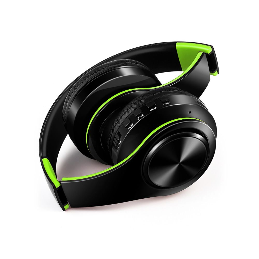 free shipping wireless Bluetooth headphone stereo headset music headset support SD card with mic for mobile <font><b>ipad</b></font>