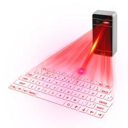 Bluetooth teclado láser virtual inalámbrico teclado de proyección portátil para iphone android smart phone iPad Tablets PC portátil