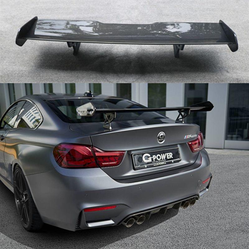 F82 M4 GTS stil carbon fiber hinten flügel auto stamm lip auto boot flügel spoiler für BMW F82 auto styling auto zubehör