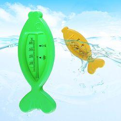 Ikan Air Termometer Floating Bak Air Suhu Tester Kartun Ikan Berbentuk Bak Mandi Air Sensor Termometer