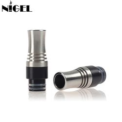 Nigel Long 510 Drip Tip With 9 Holes For Atomizer Drip Tip Mouthpiece For RDA RDTA Tank Vape Electronic Cigarette Accessories