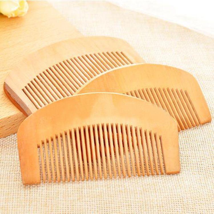 TI40 Fine peach wood hair comb hair hair comb