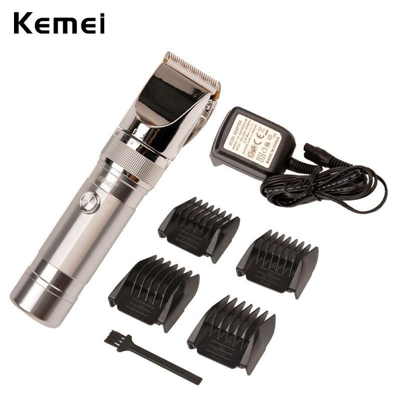 Kemei Hair Clipper Professional Cut Trimmer For Men Rechargeable Machine Cutting Hair Beard Shearer Hair Shaver Trimer S5253