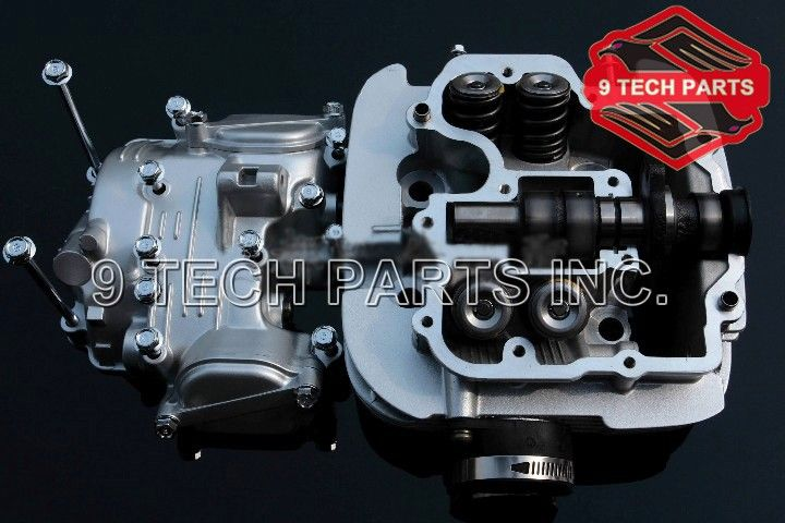 GZ250 GN300 LT250 DR250 GN250 Electric Tacho CYLINDER HEAD Complete Assembly With all parts