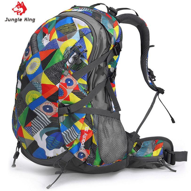 JUNGLE KING 32L Professional outdoor klettern rucksack 3 farben camping wandern rucksack für männer und frauen paket wasserdicht