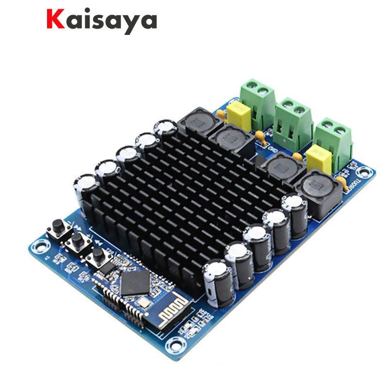 XH-A102 New 4.1 HD Bluetooth TDA7498 DC12-24V 100W + 100W high power digital amplifier board B6-002