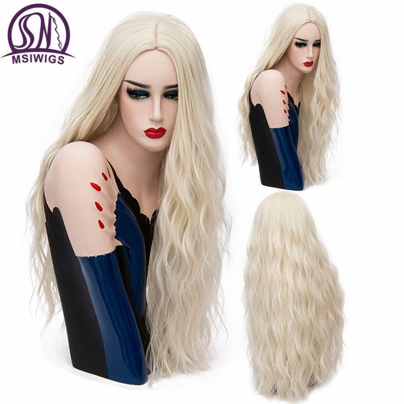 Perruques courtes 70CM de Long perruques ondulées rose Cosplay perruque Blonde naturelle pour femme 29 couleurs cheveux résistants à la chaleur