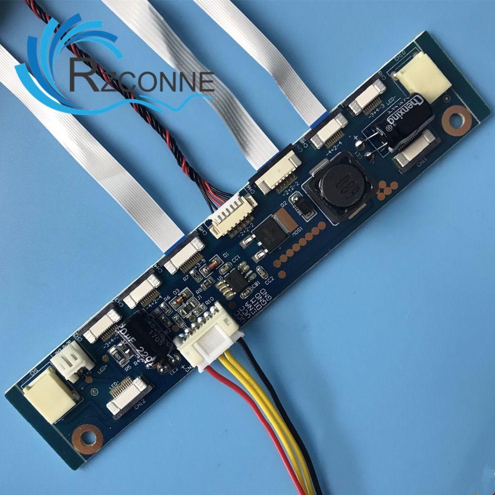 Onduleur multifonction pour rétro-éclairage LED carte de pilote à courant Constant 12 connecteurs testeur de bande de LED livraison gratuite