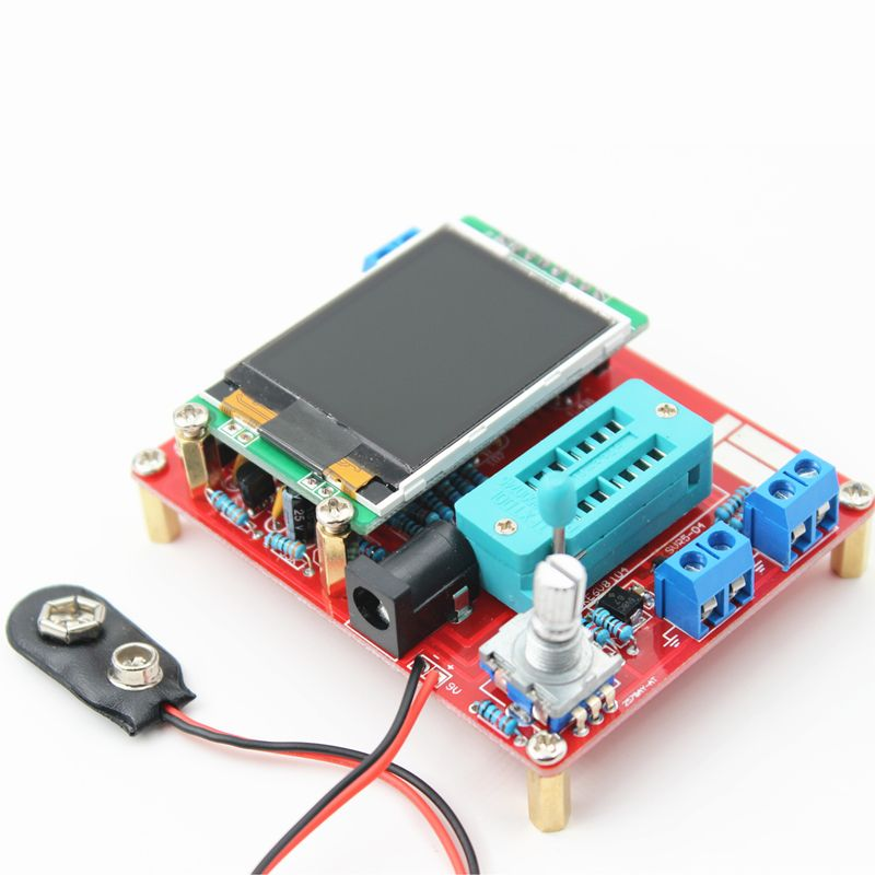 2016 DIY kits ATMEAG328 M328 Transistor Tester LCR Diode Capacitance ESR meter PWM Square wave Frequency Signal Generator