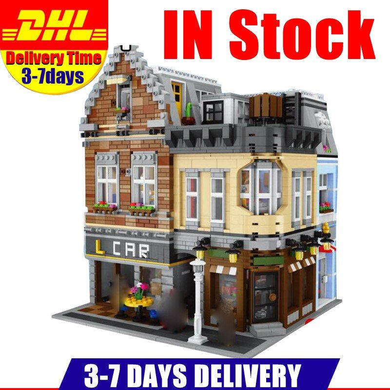 IN Stock LEPIN 15034 4210Pcs MOC Series The New Building City Set Building Blocks Bricks Educational Toys Model As Boy`s Gifts