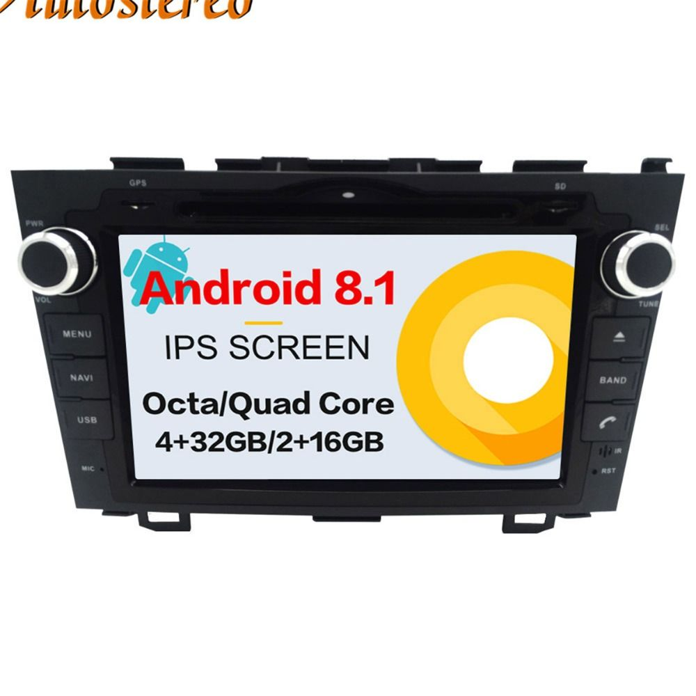 Android 8.1 Auto DVD Player GPS navigation Für Honda CRV CR-V 2006-2011 kopf einheit multimedia player 2 din radio band recorder IPS