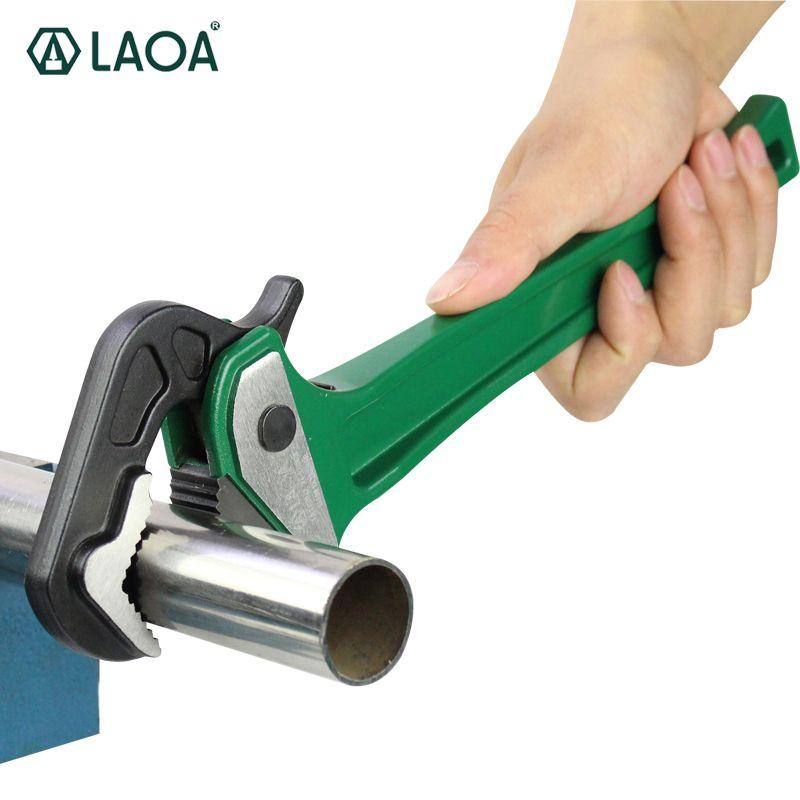 LAOA Pipe Rapide Pinces multifonction Aluminium Ratchet Clé À Tuyau D'eau Forceps Pinces Avec CR-V Clé Tête Livraison Gratuite