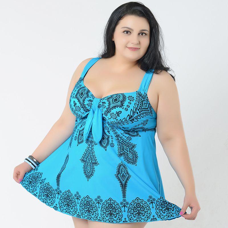 Big breast women Sexy swimwear Plus Size Tankinis set Beach dress Large 4XL-10XL Swimsuit Vintage Women's Beachwears High Waist