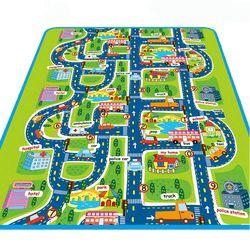 Ville Route Tapis Pour Enfants Tapis de Jeu Pour Enfants Tapis Bébé jouets Tapis En Développement Jouer Puzzle Tapis Tapis Goma Eva Mousse tapis