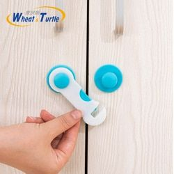 4 Ps/Lot Environmentally Friendly Baby Care Safety Protect Lock Cabinets Cupboards Protector Safety Lock For Baby Children Kids