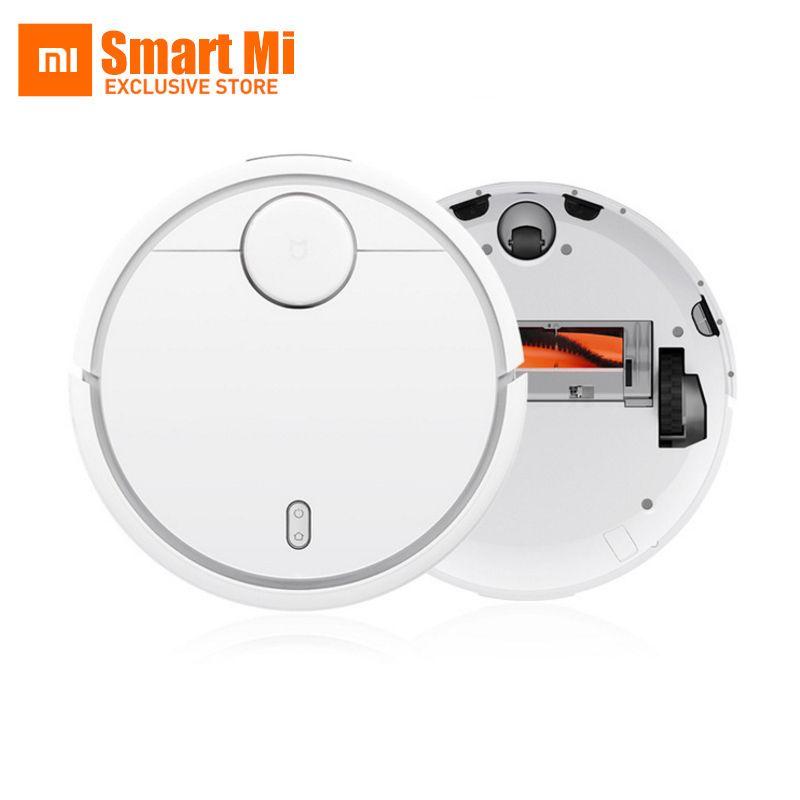 Auf Lager! XIAOMI Kehr Robotic Reiniger Mi Roboter Zimmer Roboter 5200 mah NIDEC Motor Saug LDS 12 Sensoren APP Control Weiß