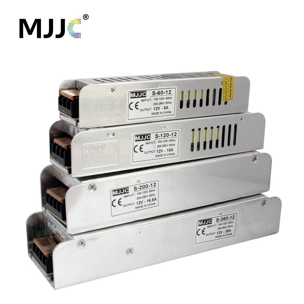 Unité d'alimentation de 12 volts 110V 220V AC à 12 V 5A 60W 12.5A 150W 10A 20A 30A transformateur de lumière de bande de LED d'alimentation de commutation