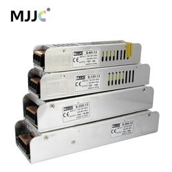 12 вольт Питание блок 110 В 220 В переменного тока до 12 В 5A 60 Вт 12.5A 150 Вт 10A 20A 30A Импульсный источник питания Светодиодные ленты свет трансформатор...