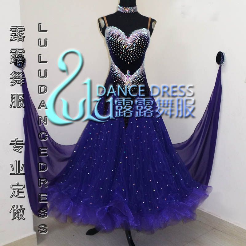 2016New Competition ballroom dance dress,juvenile dance clothing,stage ballroom dress,Tango Dance Dress,ballroom dress