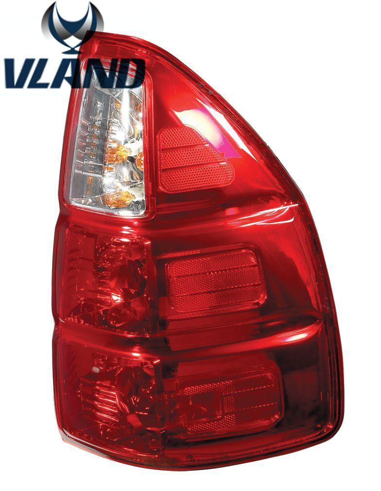 VLAND hersteller für Auto Schwanz licht für GX470 LED Rücklicht für GX470 Schwanz lampe mit Reverse + Bremse