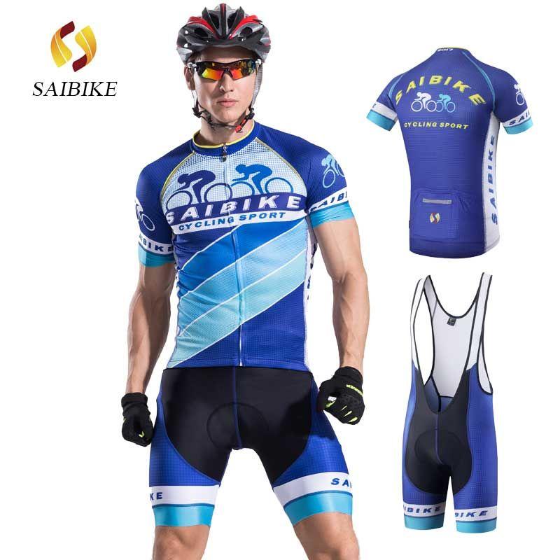 SaiBike maillots de cyclisme hommes ropa ciclismo maillot été vêtements respirants fietskleding wielrennen zomer heren ensembles