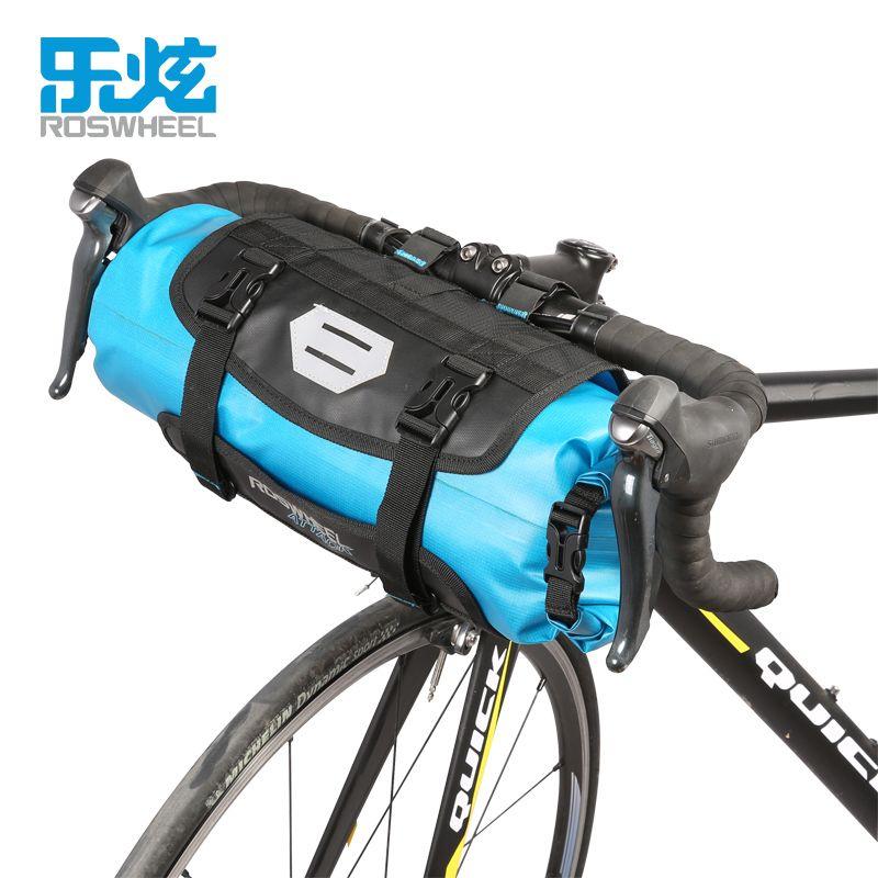 ROSWHEEL Fahrrad Vorne Rohr Tasche Fahrrad Lenkertasche Pack Körbe Zyklus Radfahren Storag Rahmen Pannier Zubehör ANGRIFF SERIE