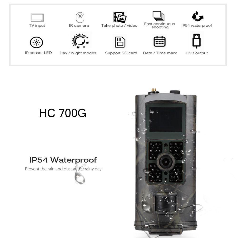 Outlife HC700G Jagd Kamera 3G SMS 1080 P 16MP GPRS Digitale Infrarot-nachtsicht Jagd Trail Kamera Scouting Kamera