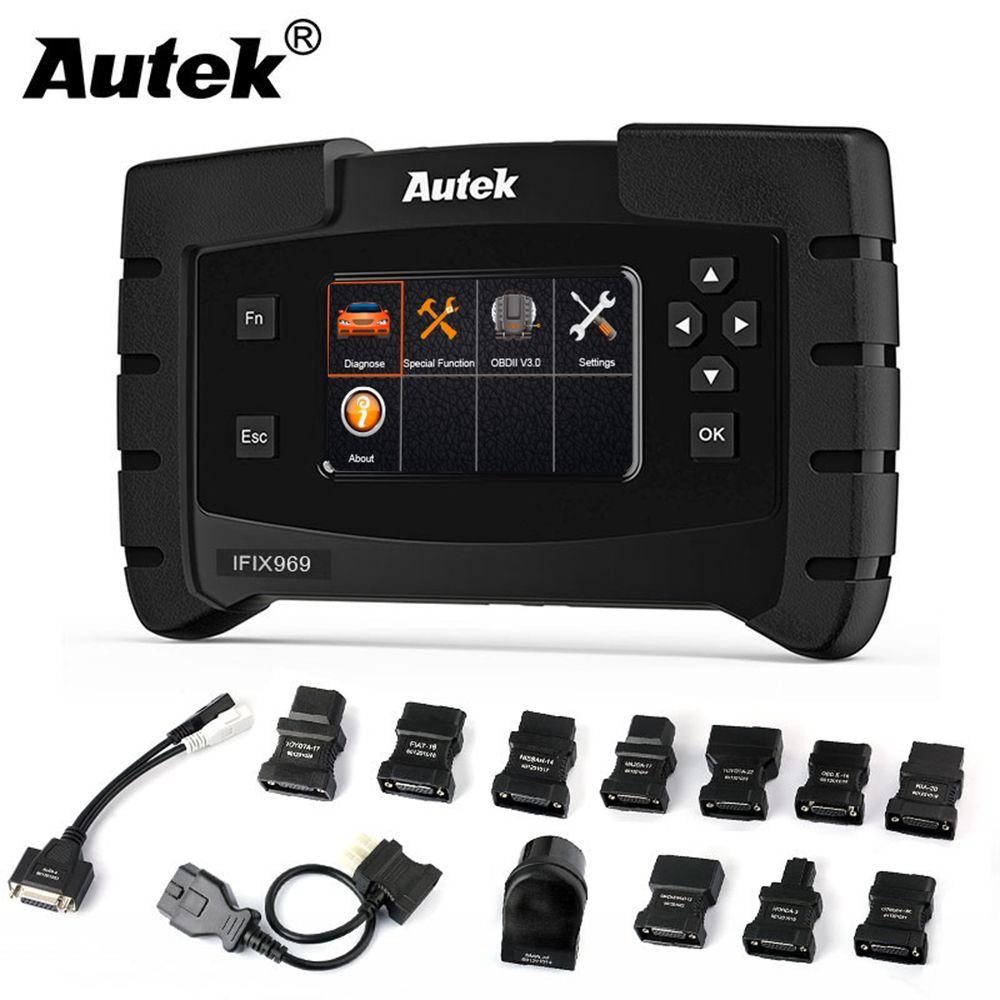 Autek IFIX969 Auto Diagnose Werkzeug Automotive Airbag ABS SRS SAS EPB Öl Licht Reset TPMS OBD OBD2 Automatische Übertragung Werkzeuge