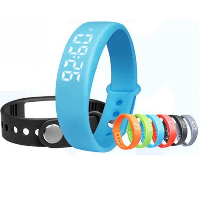 Smart Bracelet W5P Intelligente Bracelet Podomètre Sommeil Tracker Température Affichage Intelligent bande Fitness Tracker montre Smart watch Pour PC