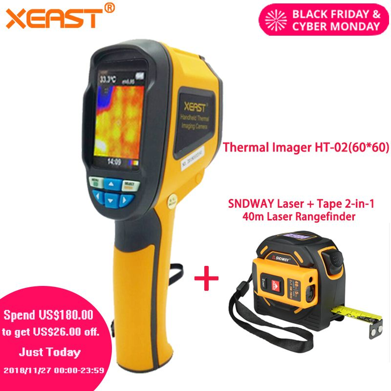 Fast Reach to Russian and All Over the World Handheld Thermal Imaging Camera HT-18 Portable Thermal Imager HT18 220*160