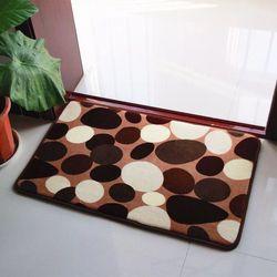 Besar dan Kecil Ukuran Karpet Lantai Karpet Kamar Mandi Mat Non-Slip Toilet Mandi Memori Busa Mandi Tikar Pintu karpet alfombra De Bano