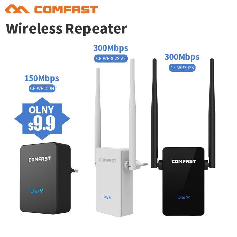 300 Mbps Sans Fil WiFi Répéteur WiFi Routeur, Point d'accès (AP), 2 * 5dBI Antenne WI FI Amplificateurs de Signal Réseau Amplificateur Répéteur