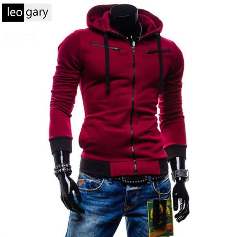 Hot Sale Cardigan Men Hoodies Jacket Brand Clothing Fashion Zip Hoodie Man Casual Slim Hoody Sweatshirt Sportswear moletom