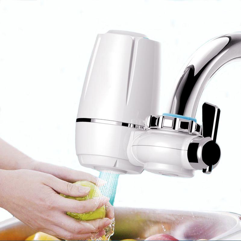 Purificateur d'eau du robinet propre cuisine robinet lavable en céramique percolateur filtre à eau Filtro rouille bactéries enlèvement filtre de remplacement